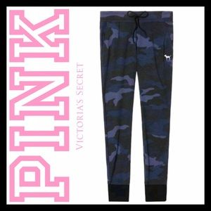 PINK Victoria's Secret Camouflage Skinny Joggers
